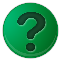 Green Question Mark Icon Soabar