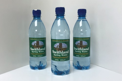 Personalised water bottle labels